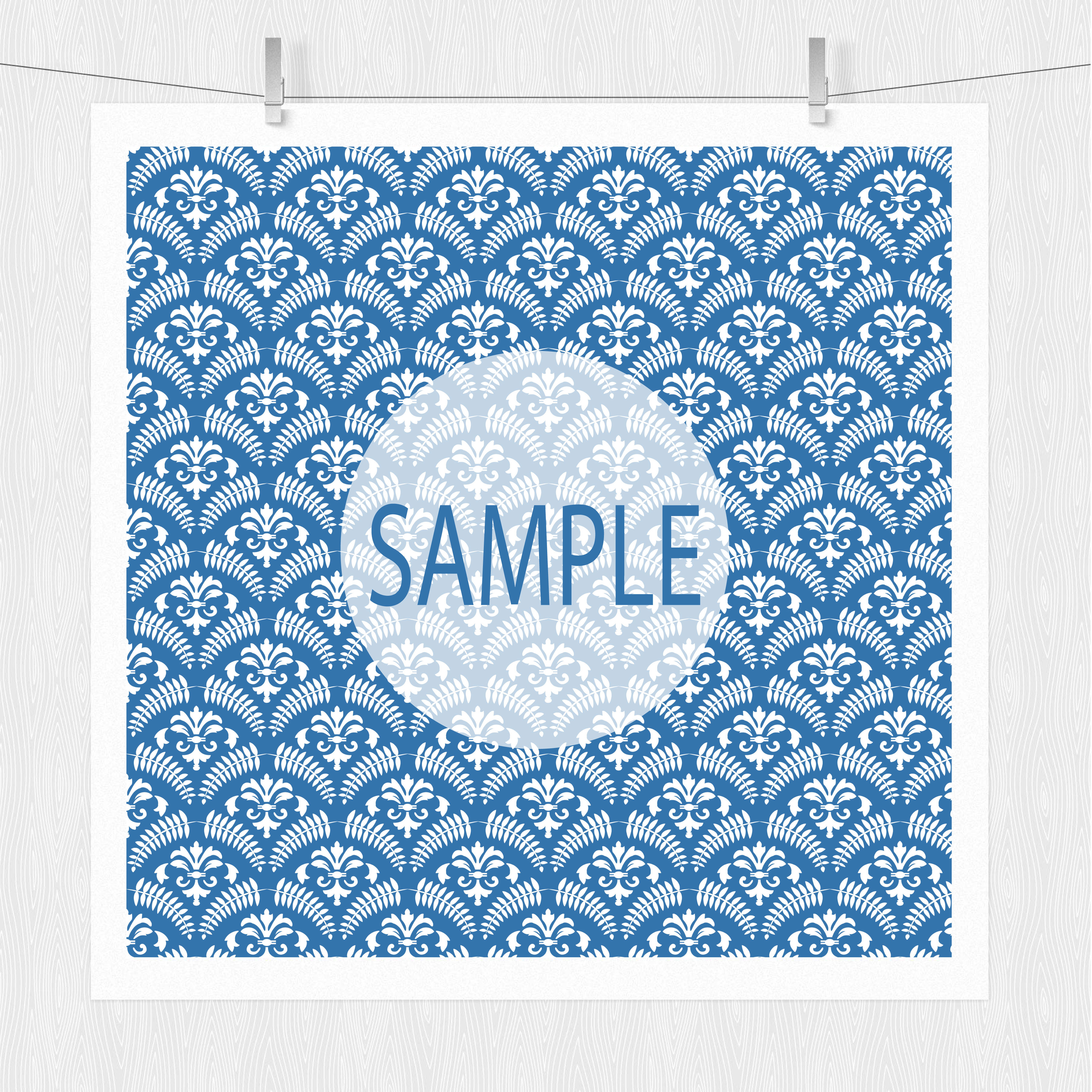 Blue Patterned Paper Pack example image 4
