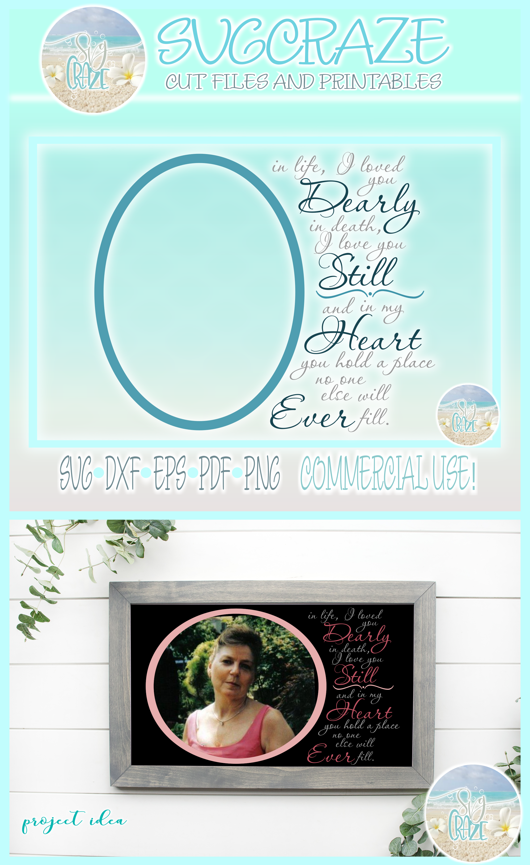 I Loved You Dearly Love You Still Memorial Quote SVG example image 4