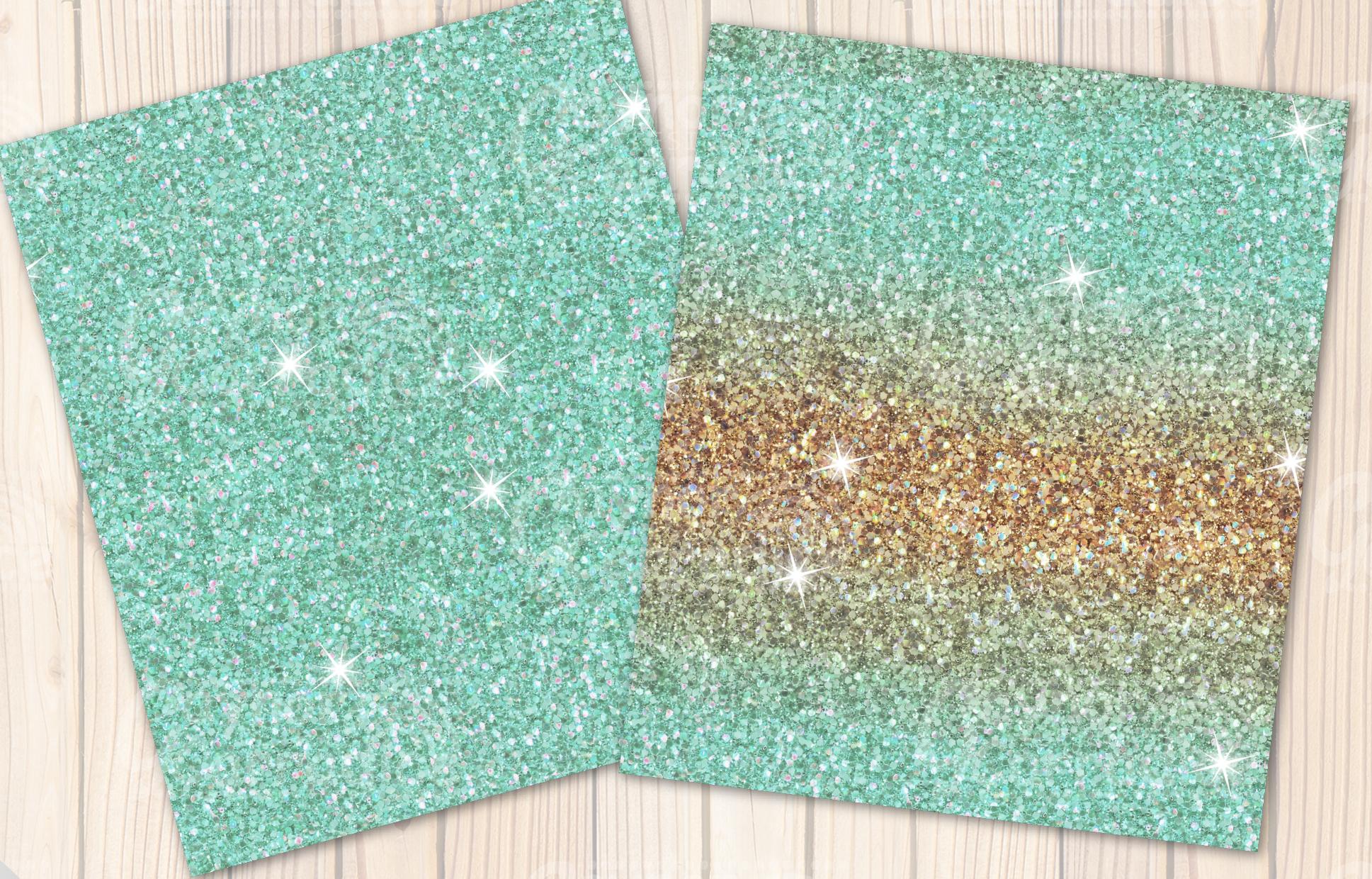 Christmas Unicorn Glitter seamless textures example image 4