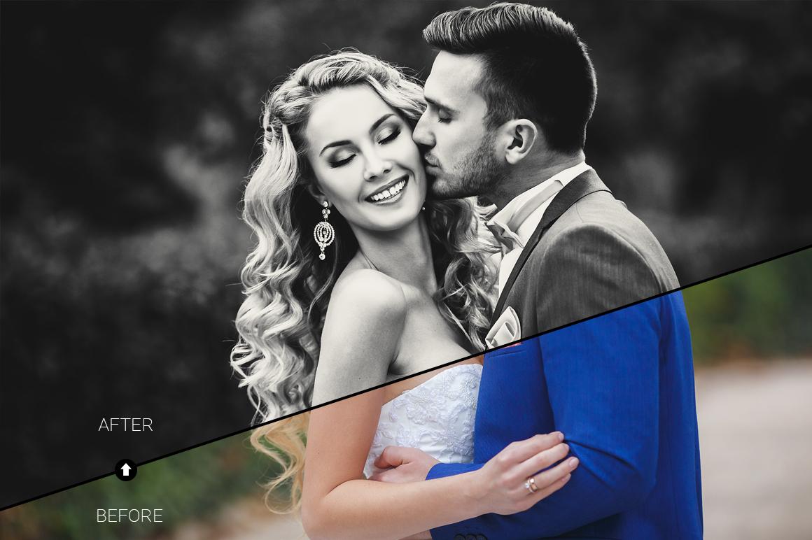Wedding Day Lightroom Presets example image 3