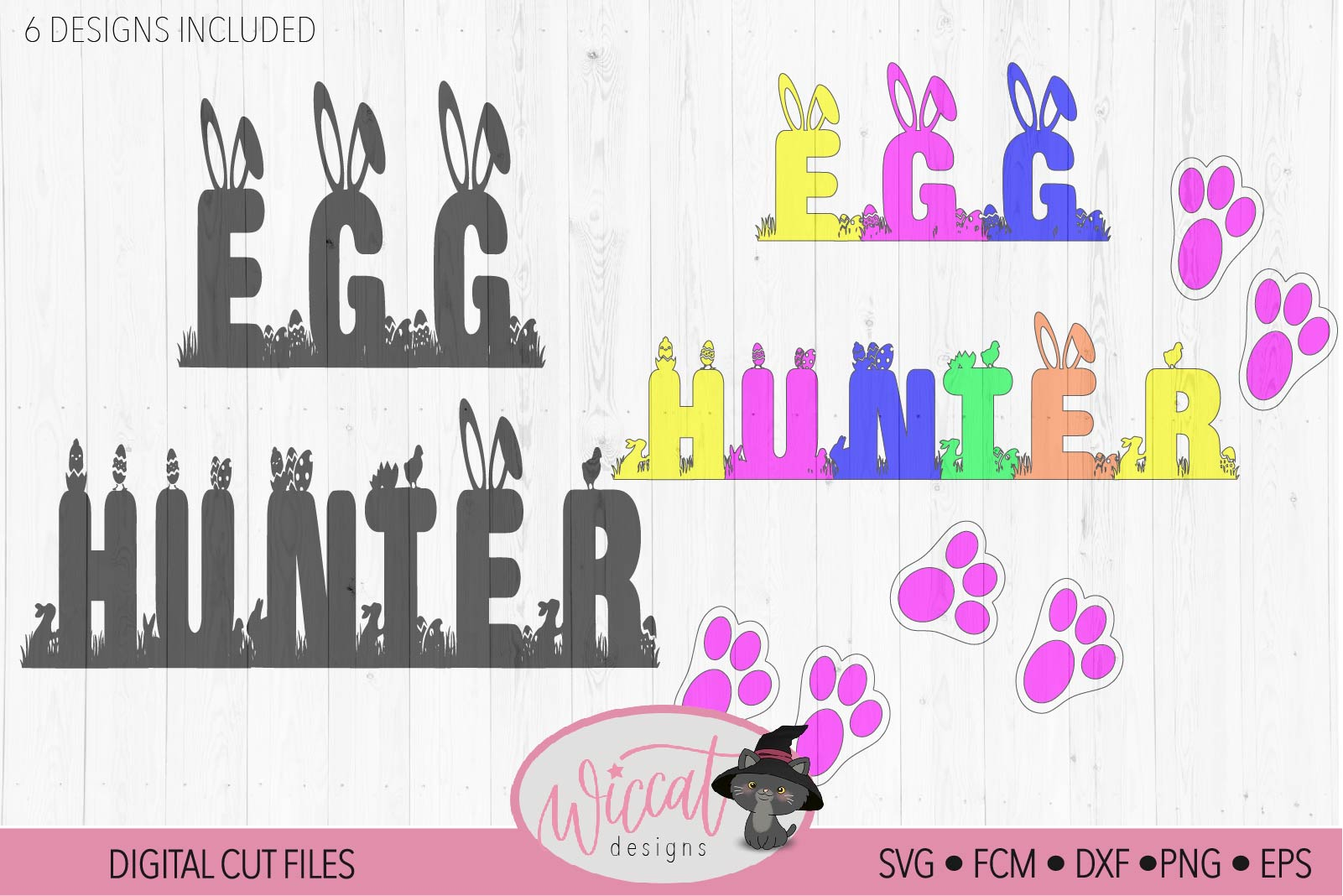 Happy Easter Quote svg, Egg hunter svg, Hunting squad example image 4