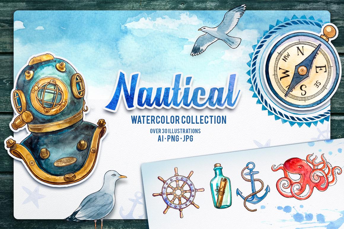 Nautical illustrations example image 1