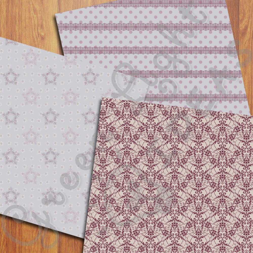 Shabby Digital Papers example image 3