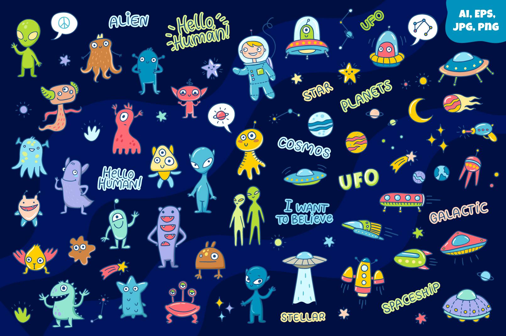 Aliens & UFOs example image 3