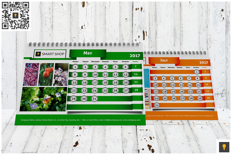 2017 Desktop Calendar example image 2