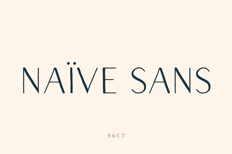 Naive Sans Family example image 1