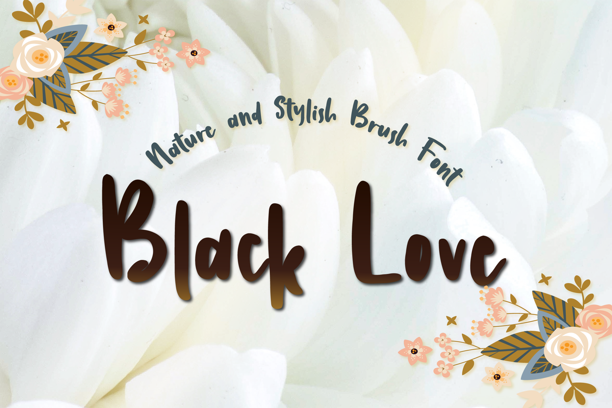 Black Love| Nature Handbrush example image 1