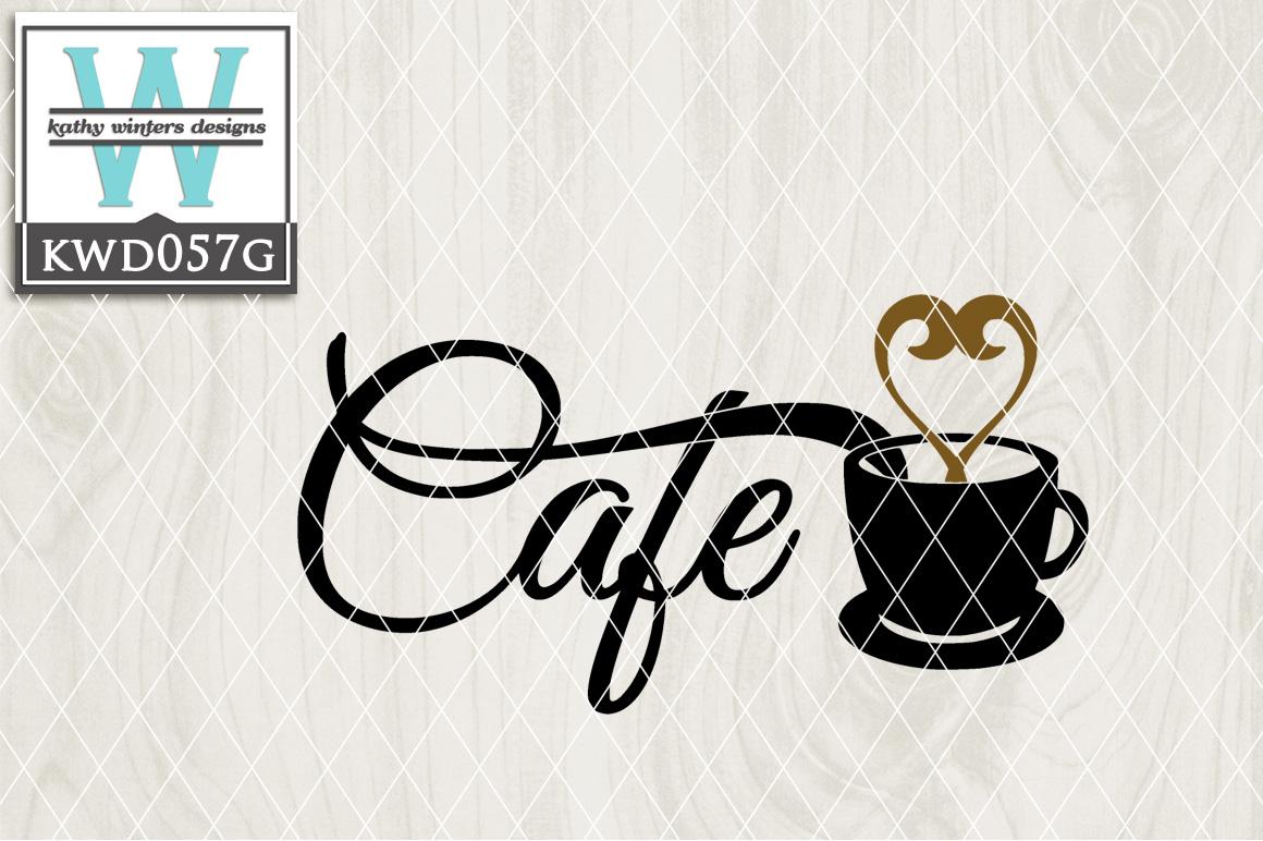Coffee Cutting File KWD057G example image 1