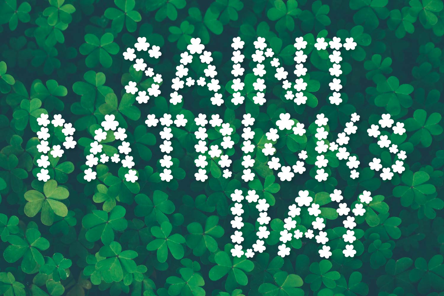 Pure Luck - A Shamrock Font Duo example image 2