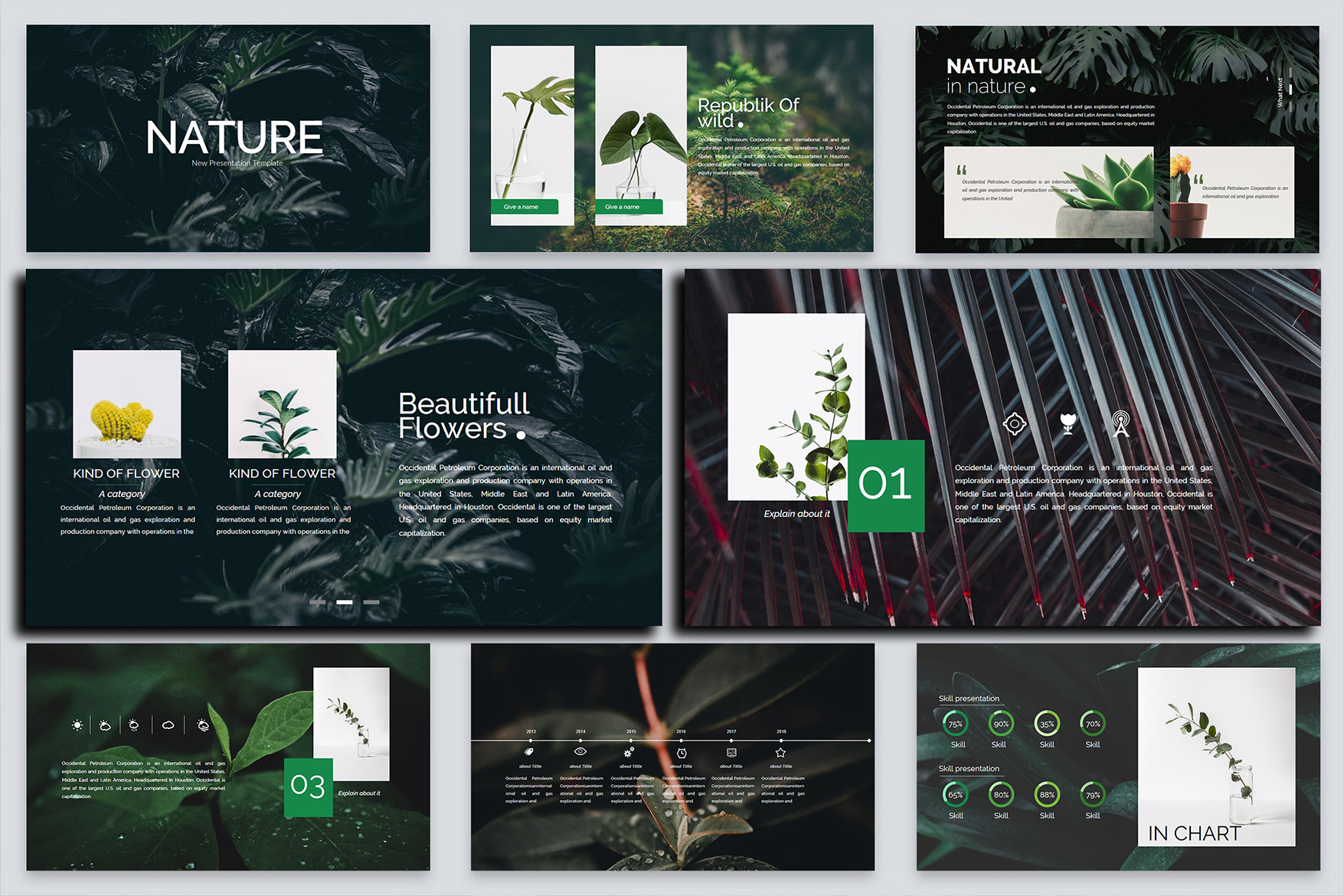 Nature Keynote Template example image 7