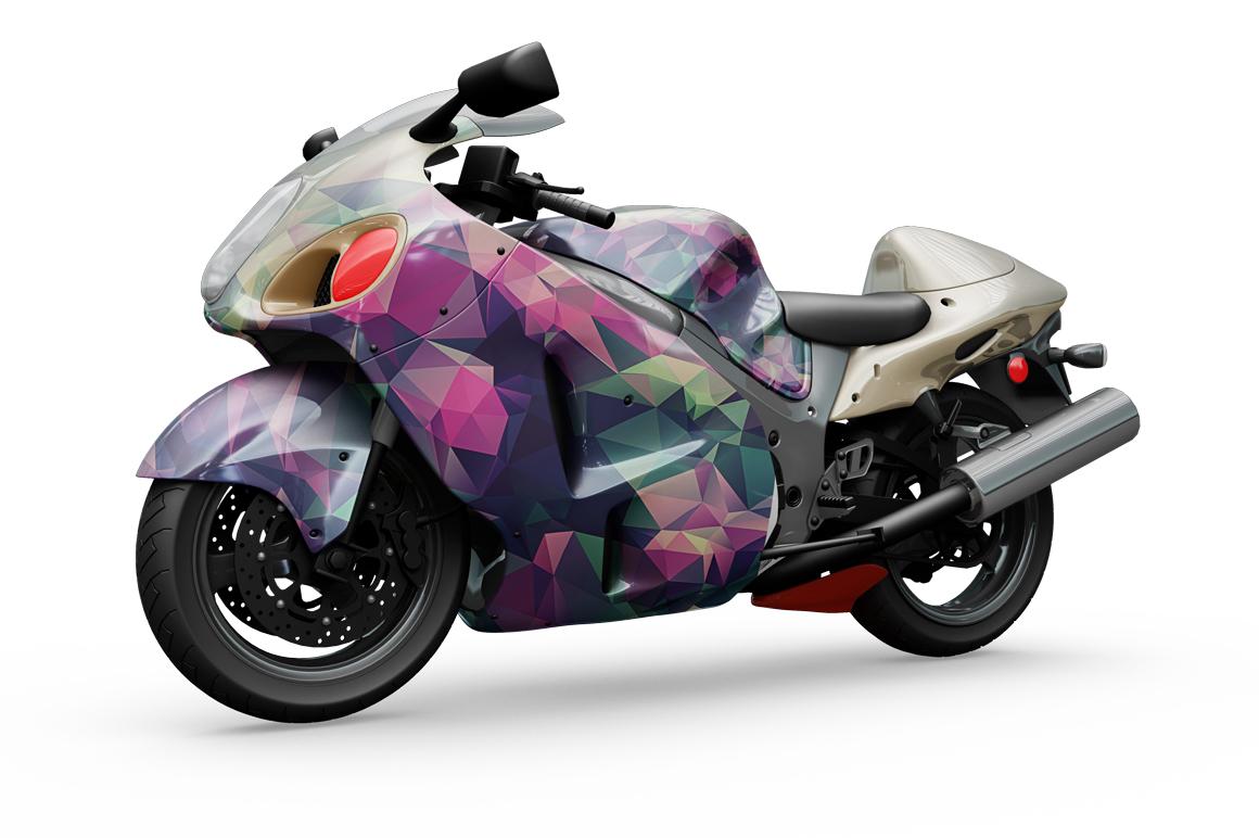 Motorcycle Mockup example image 6