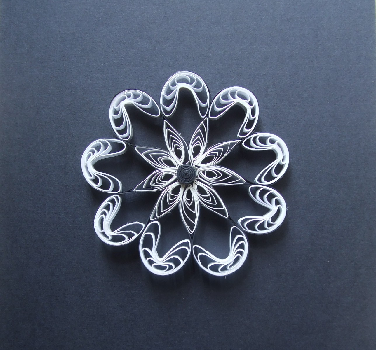 Paper quilling - floral pattern collection