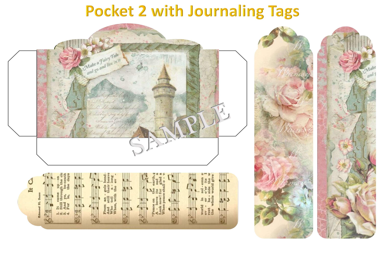 Journaling Kit with free ephemera & Clipart JPEG, PNG & PDF example image 9