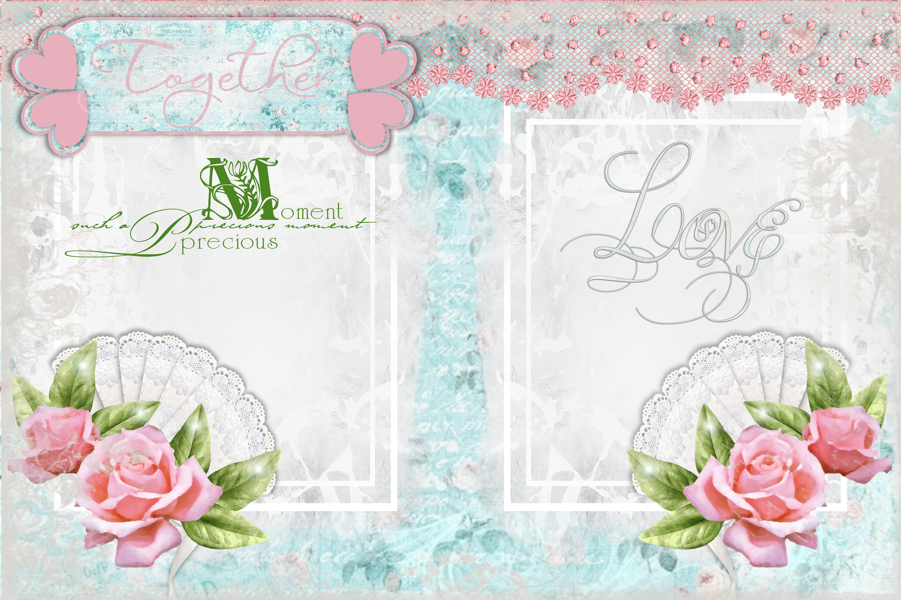 Shabby Chic Vintage backgrounds, Ephemera and Clipart Pmgs example image 5
