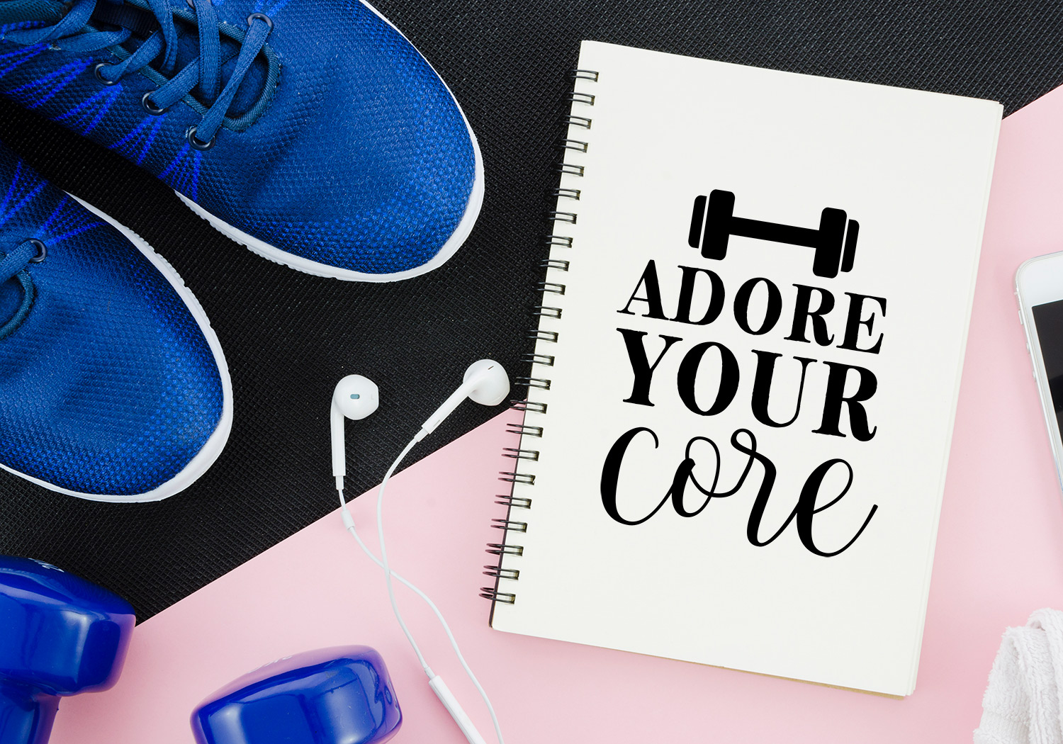 WORK OUT Quote Cut File Bundle example image 3