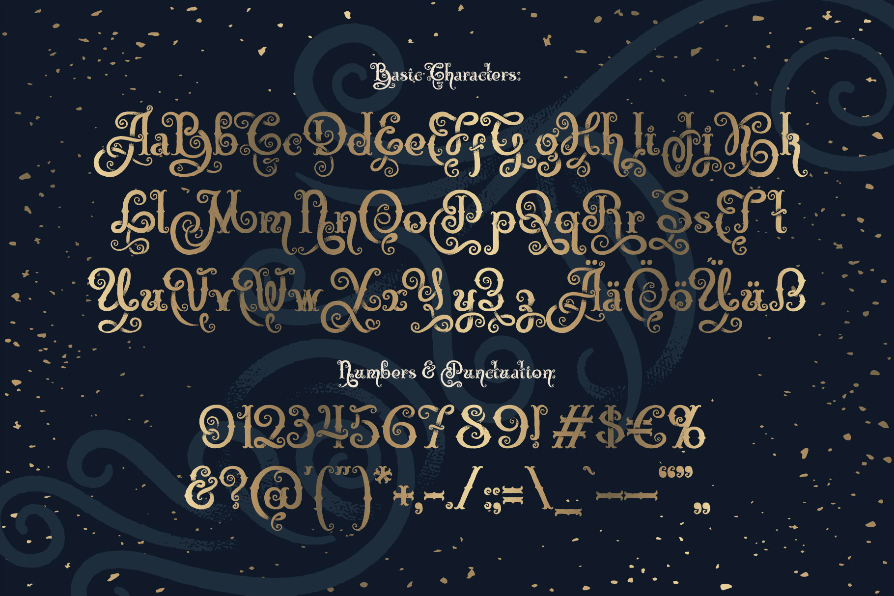 Magic Garden Font & Graphics example image 6