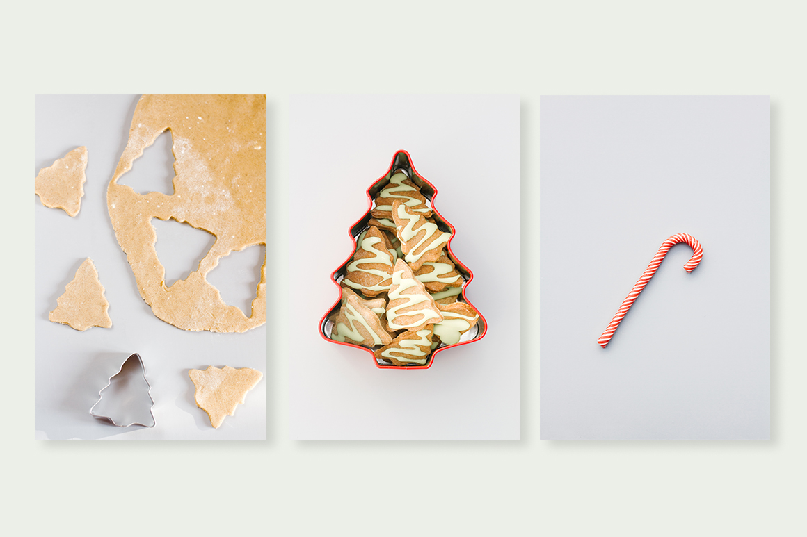 Christmas decorations bundle. Holiday cookies example image 2