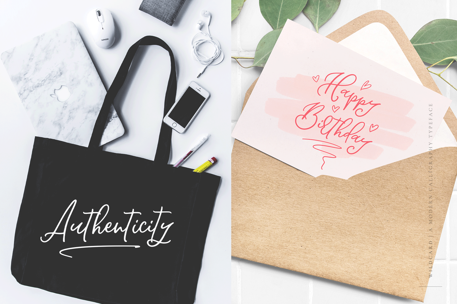 Wildcard | A Modern Calligraphy Script example image 7