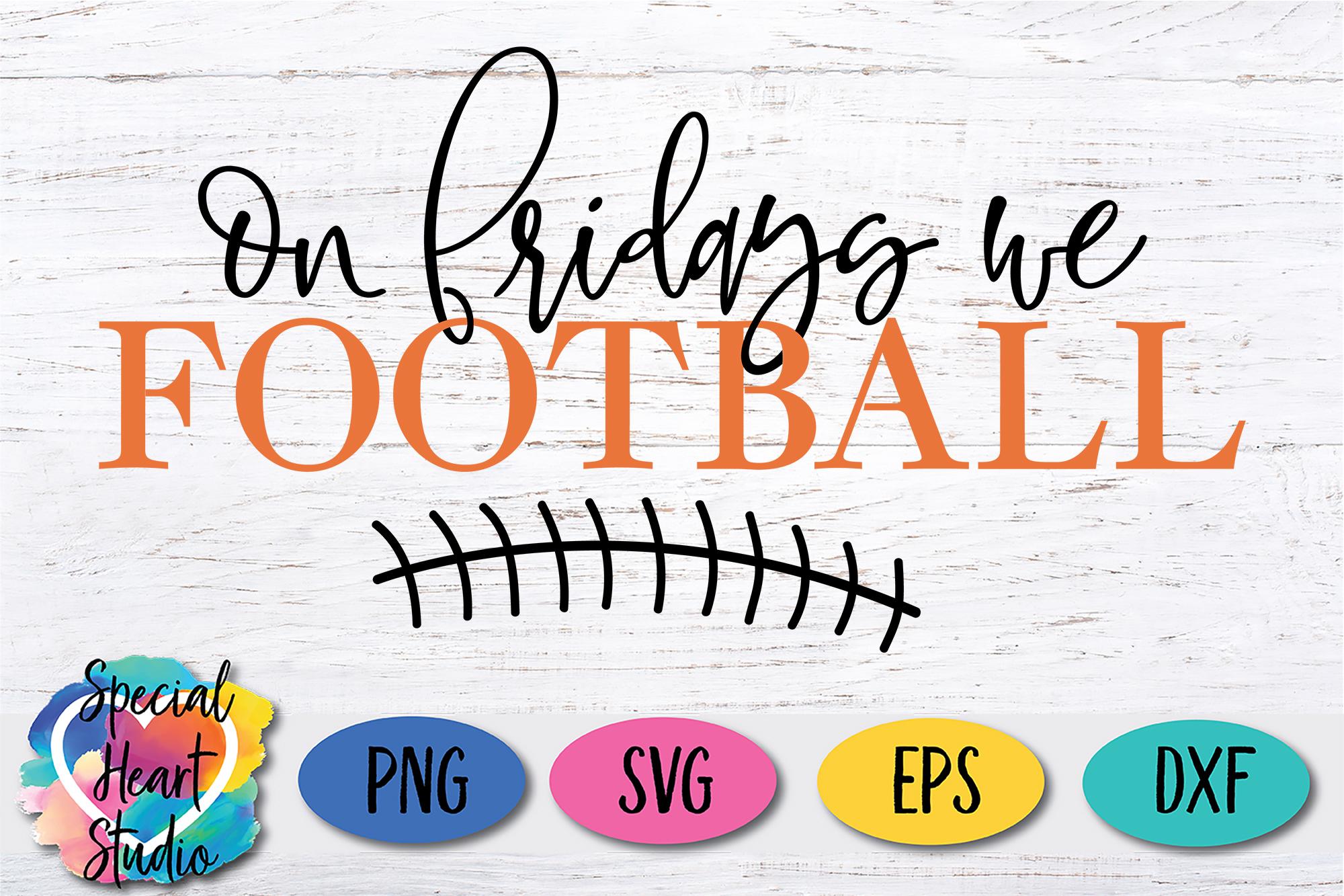 Football Bundle - An football fan SVG Cut File Bundle example image 14
