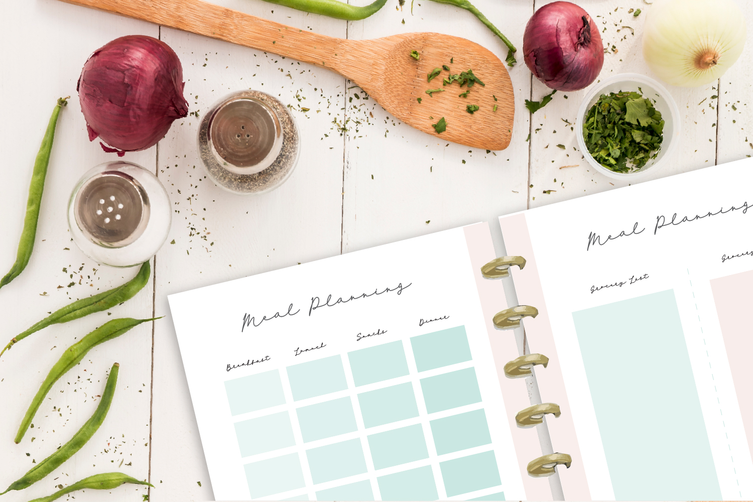 Meal Planner Printable example image 1