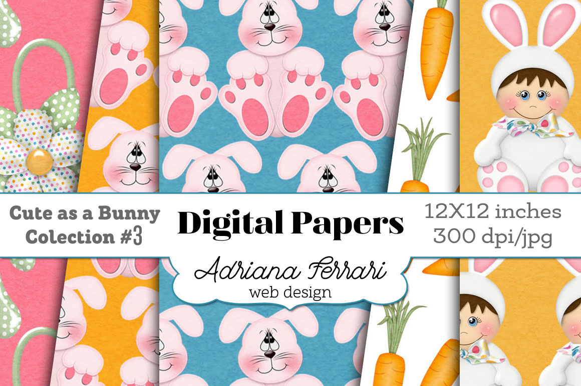 Cute as a Bunny Paper 3 example image 6