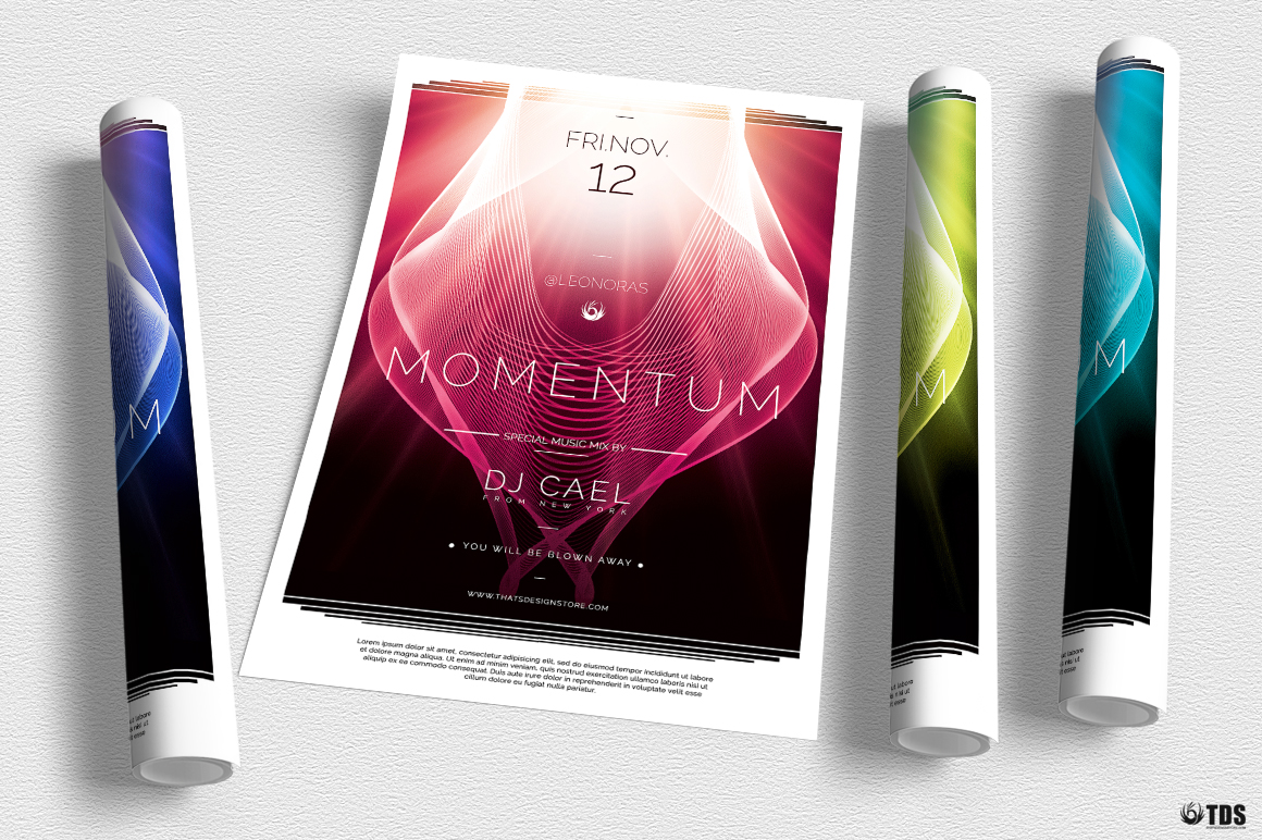 Momentum Flyer Template example image 3