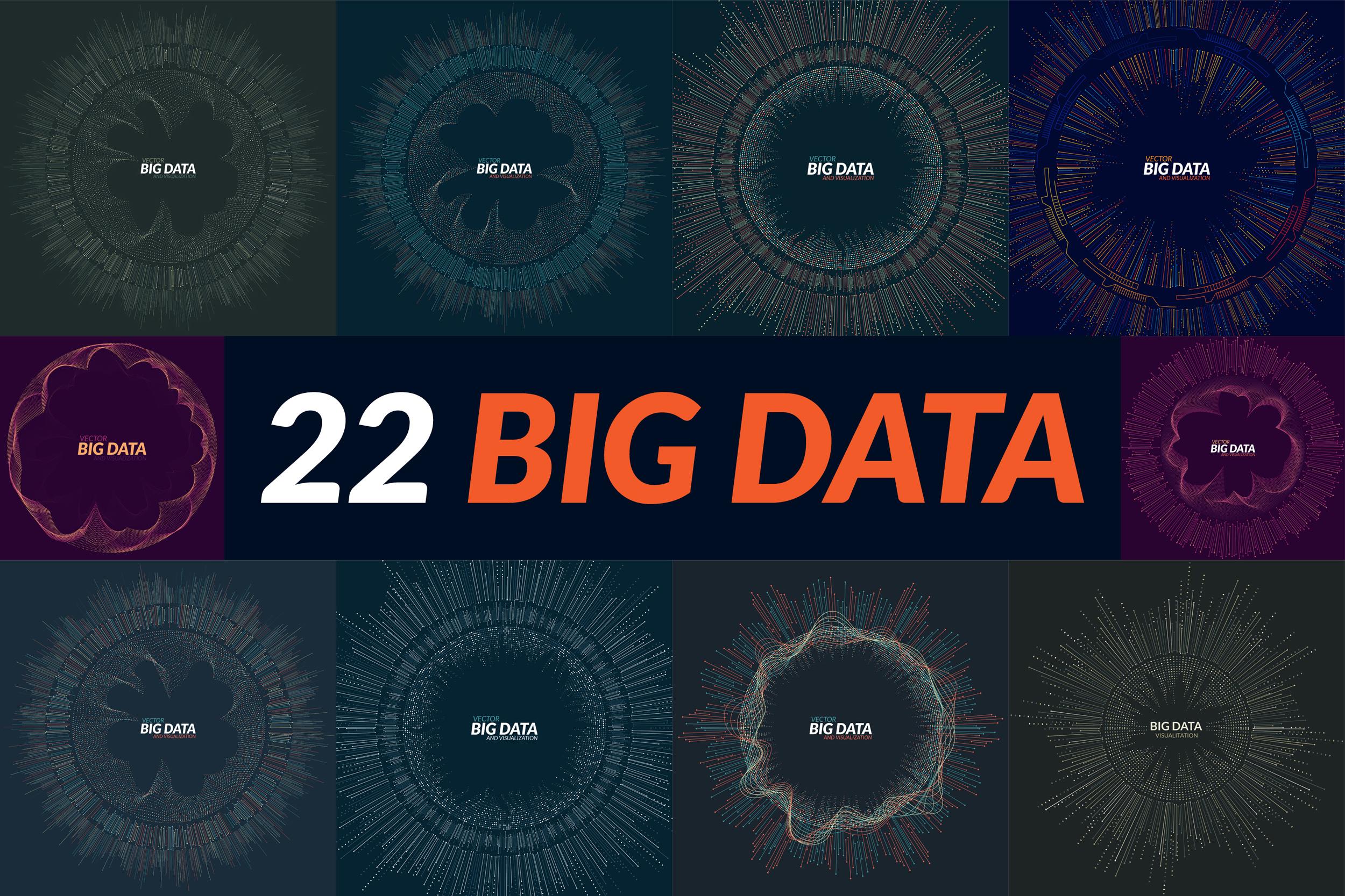 Big Data Backgrounds example image 3