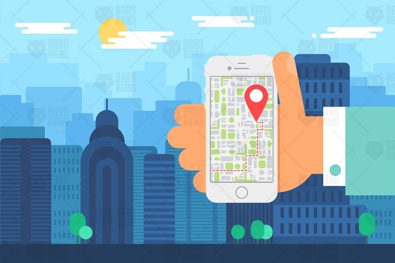 Mobile City Navigation example image 1