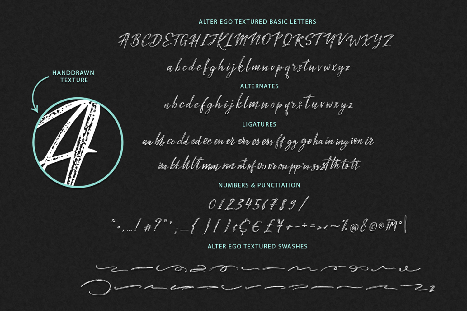 Alter Ego duo font + 2 extra fonts. example image 2