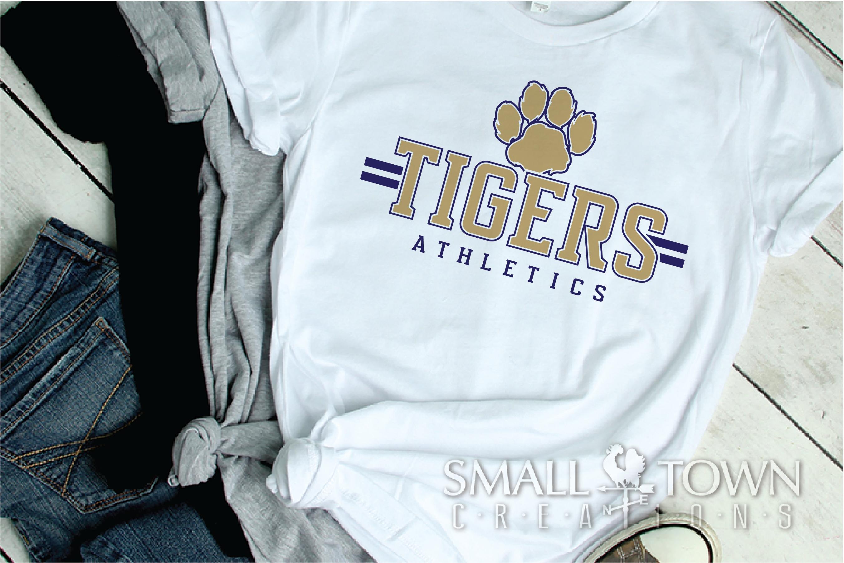 Tiger, Athletics, Sport, Team, Logo, PRINT, CUT, DESIGN example image 2
