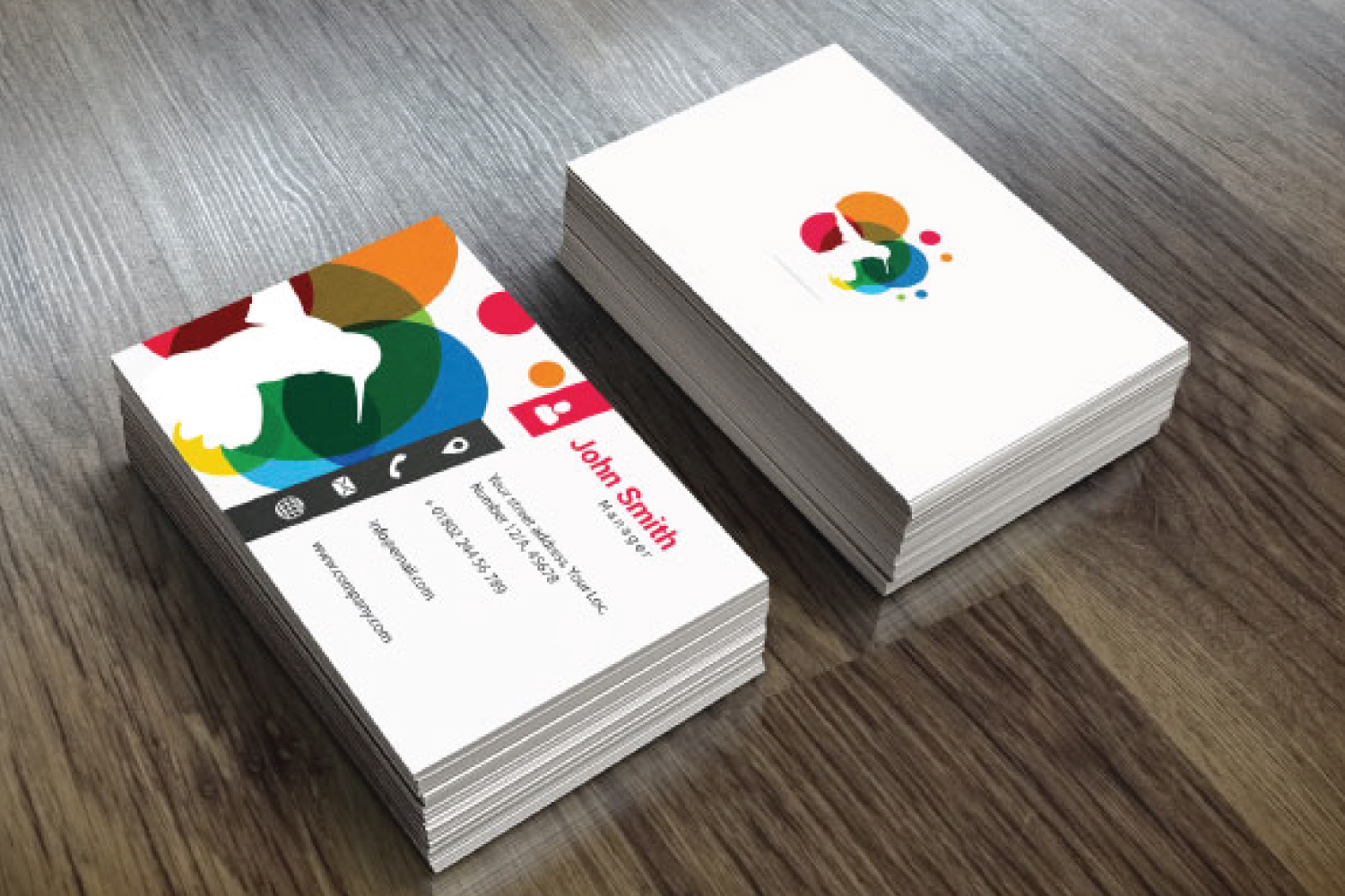 4 Business Card Designs example image 3