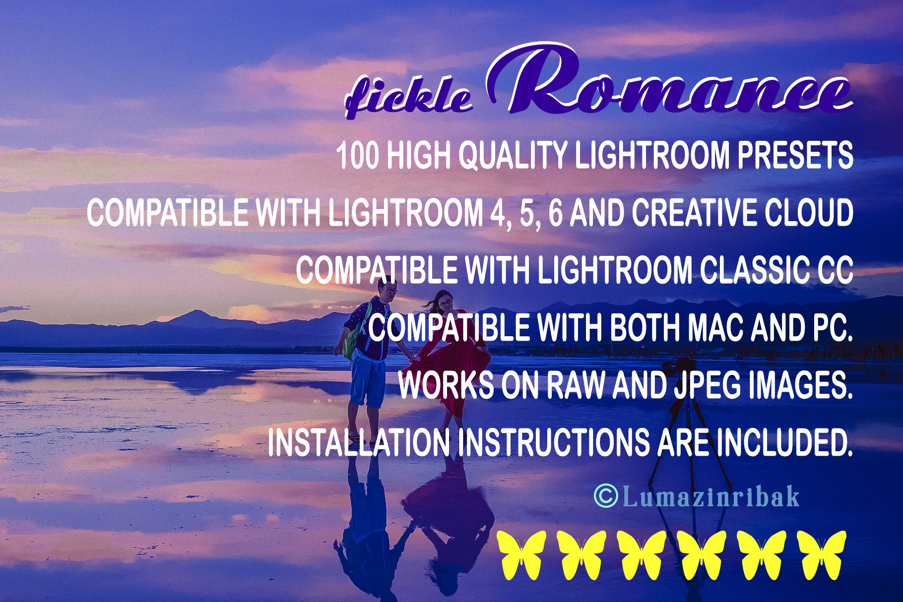 Fickle Romance Lightroom Presets example image 12