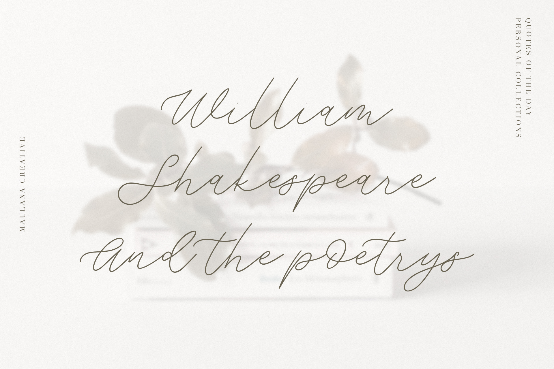 Weisston - Script Font example image 6