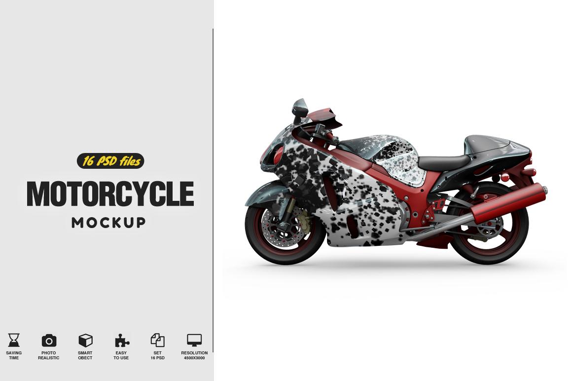 Motorcycle Mockup example image 1