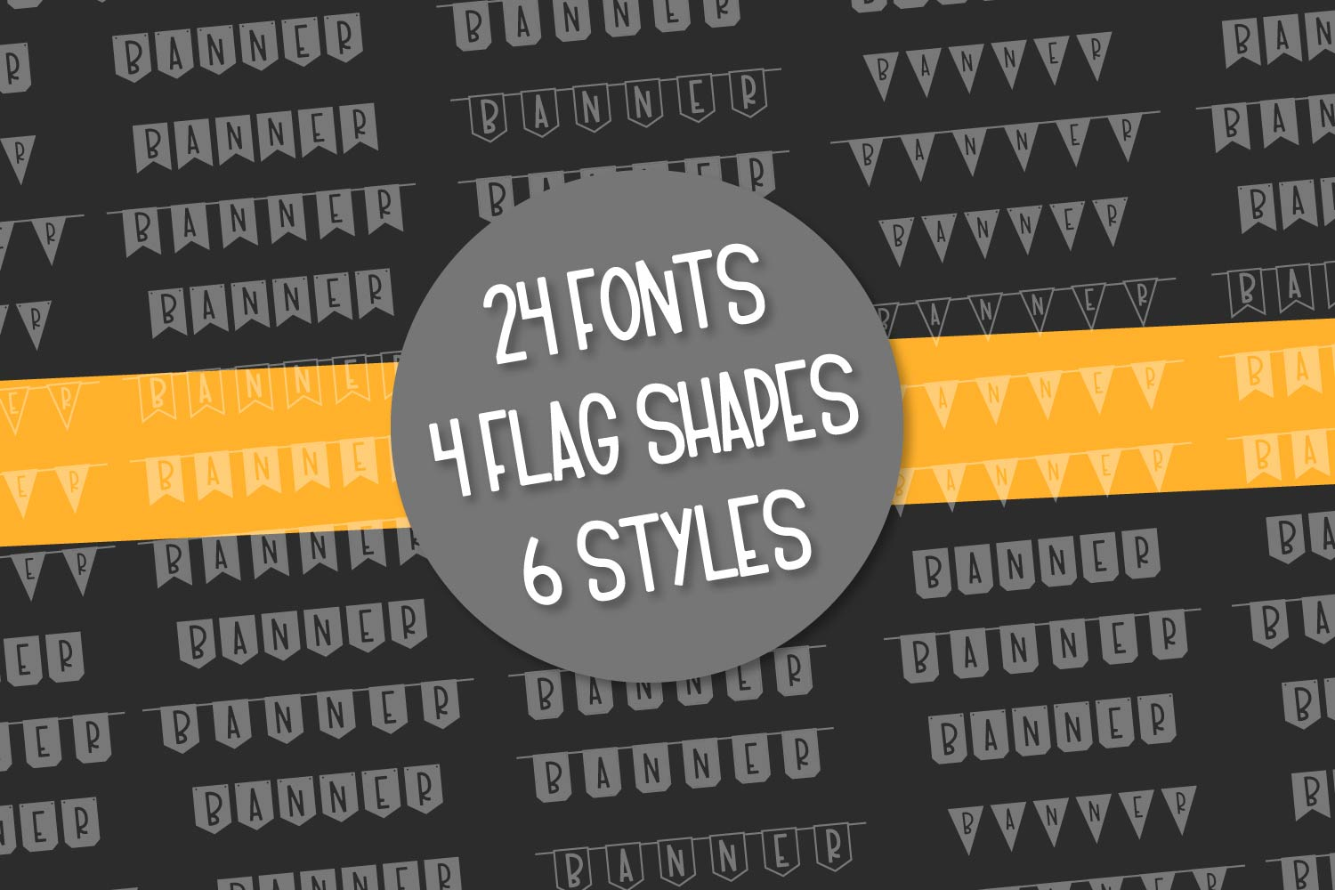 The Big Ole Banner Bundle 24 Fonts example image 10