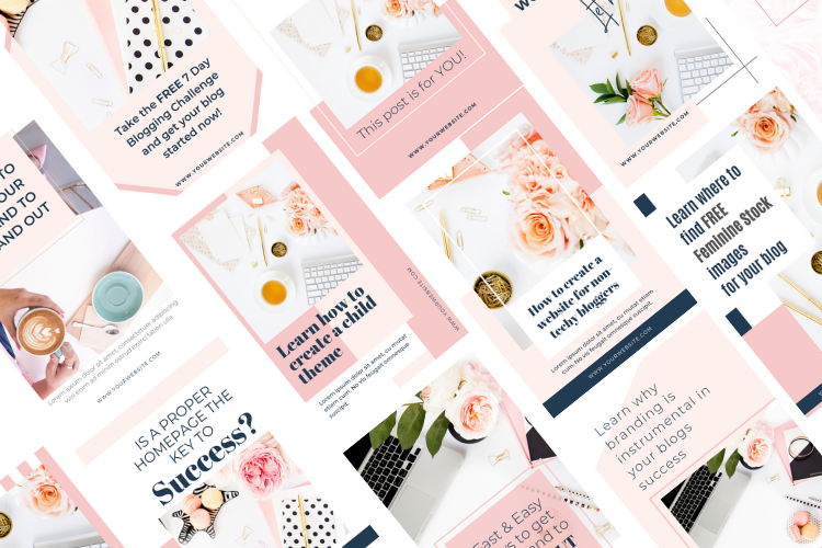 Boss Lady Pinterest Templates example image 8
