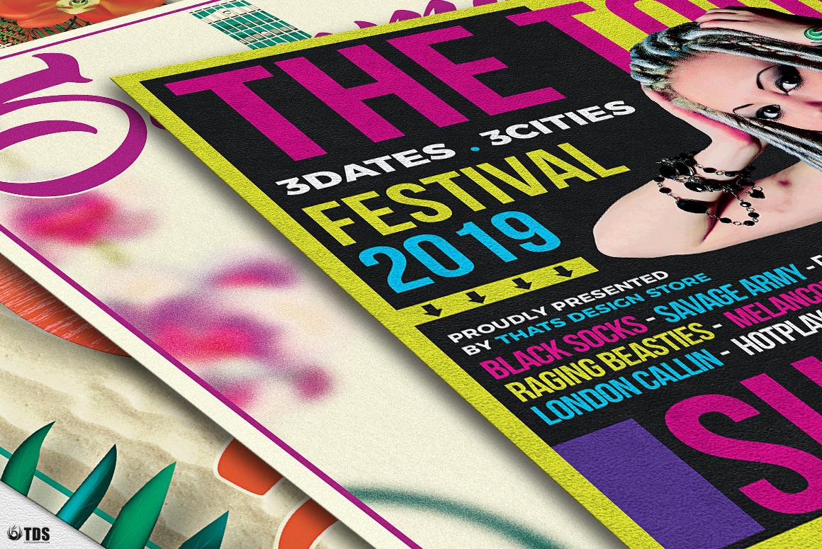 Summer Concerts Flyer Bundle example image 9