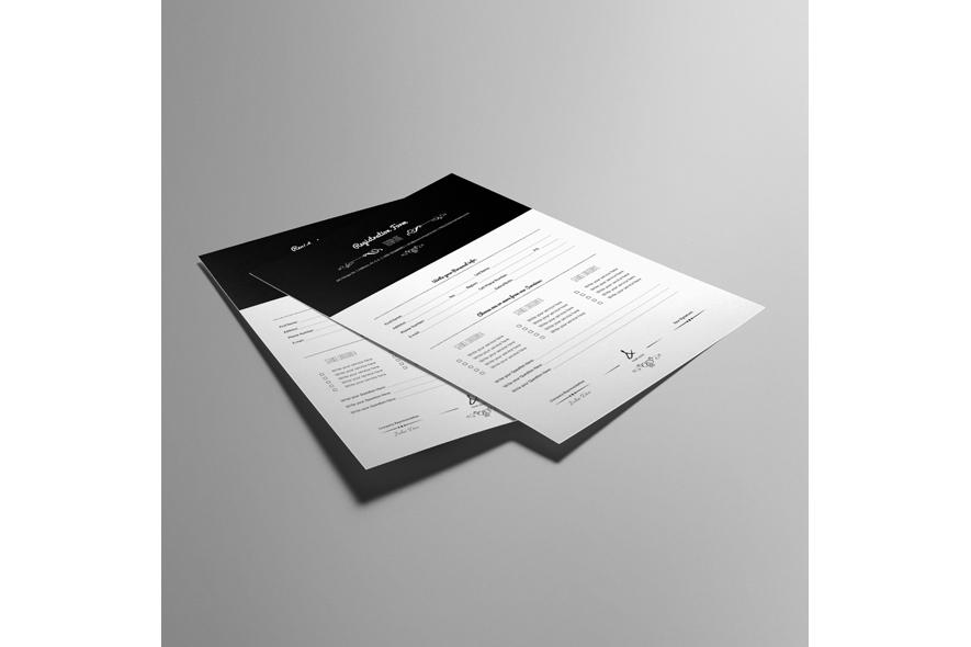 Registration Form Template v9 example image 2
