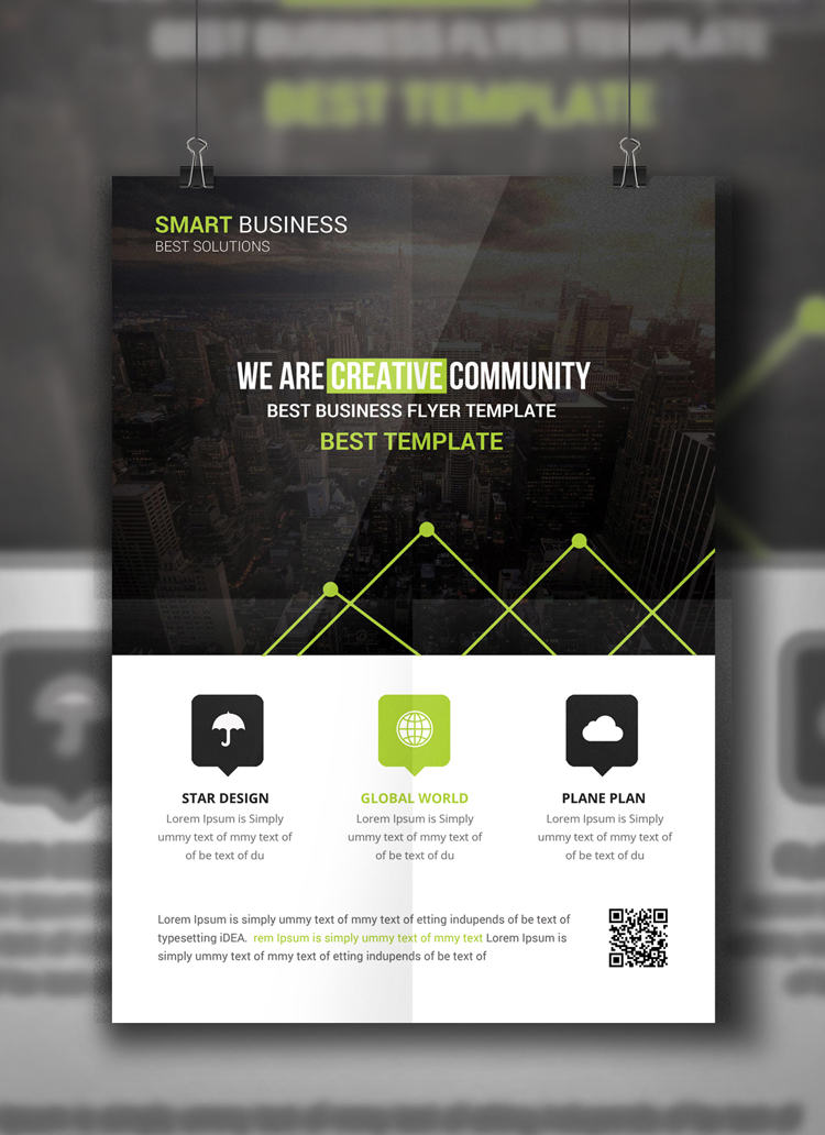 Multipurpose Business Flyer example image 3