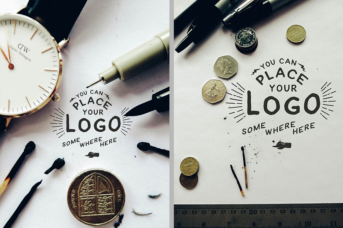 Hand Lettering Logo Mock Up example image 3