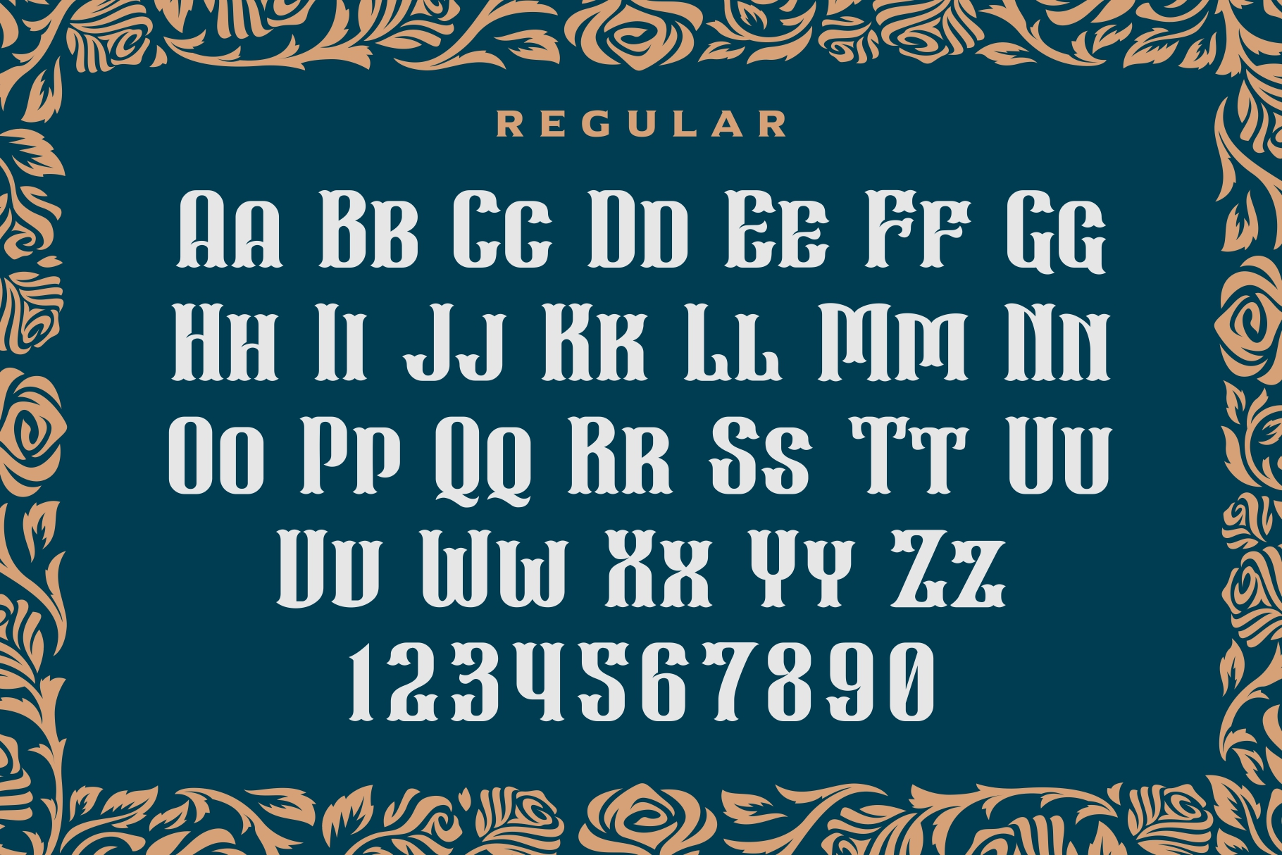 Wall Axe Font example image 3