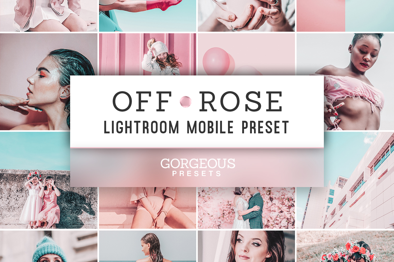 Mobile Lightroom Preset OFF ROSE example image 1