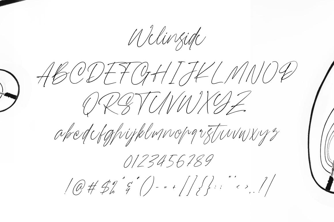 Wellinside - Handwritten Font example image 8