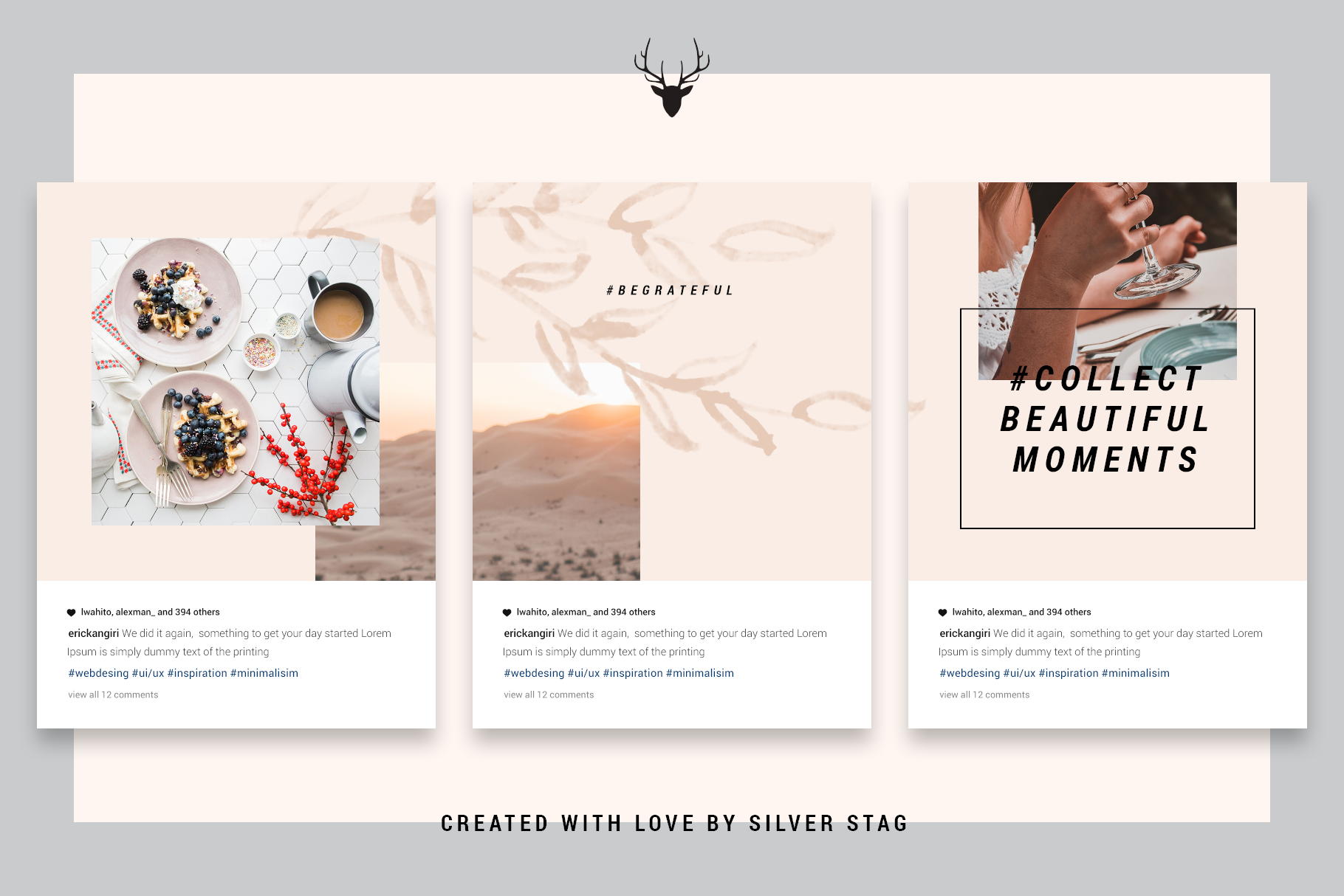 InstaGrid 5.0 - Creative & Modern Instagram Puzzle Template example image 6