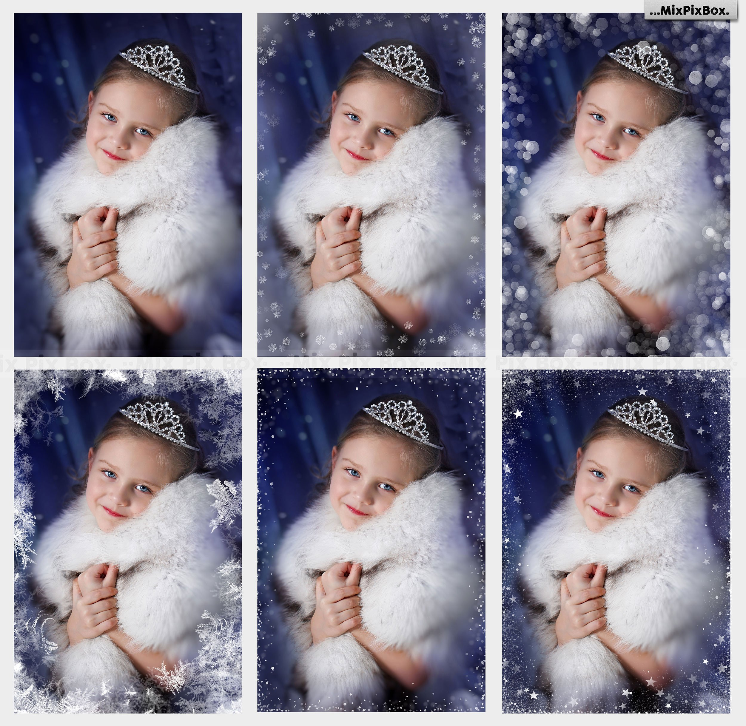 20 Christmas Photo Overlays example image 4