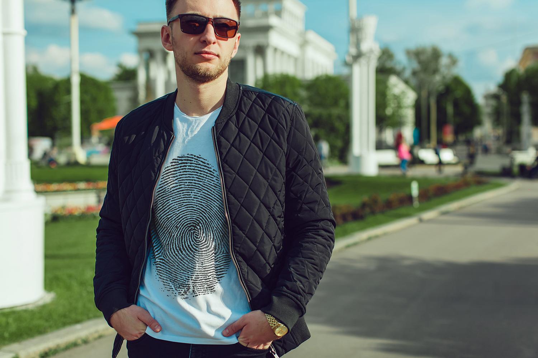 Men's T-Shirt Mock-Up Vol.2 2017 example image 7