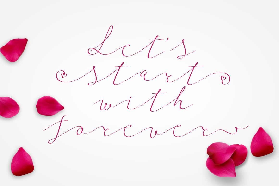 Follow script font example image 5