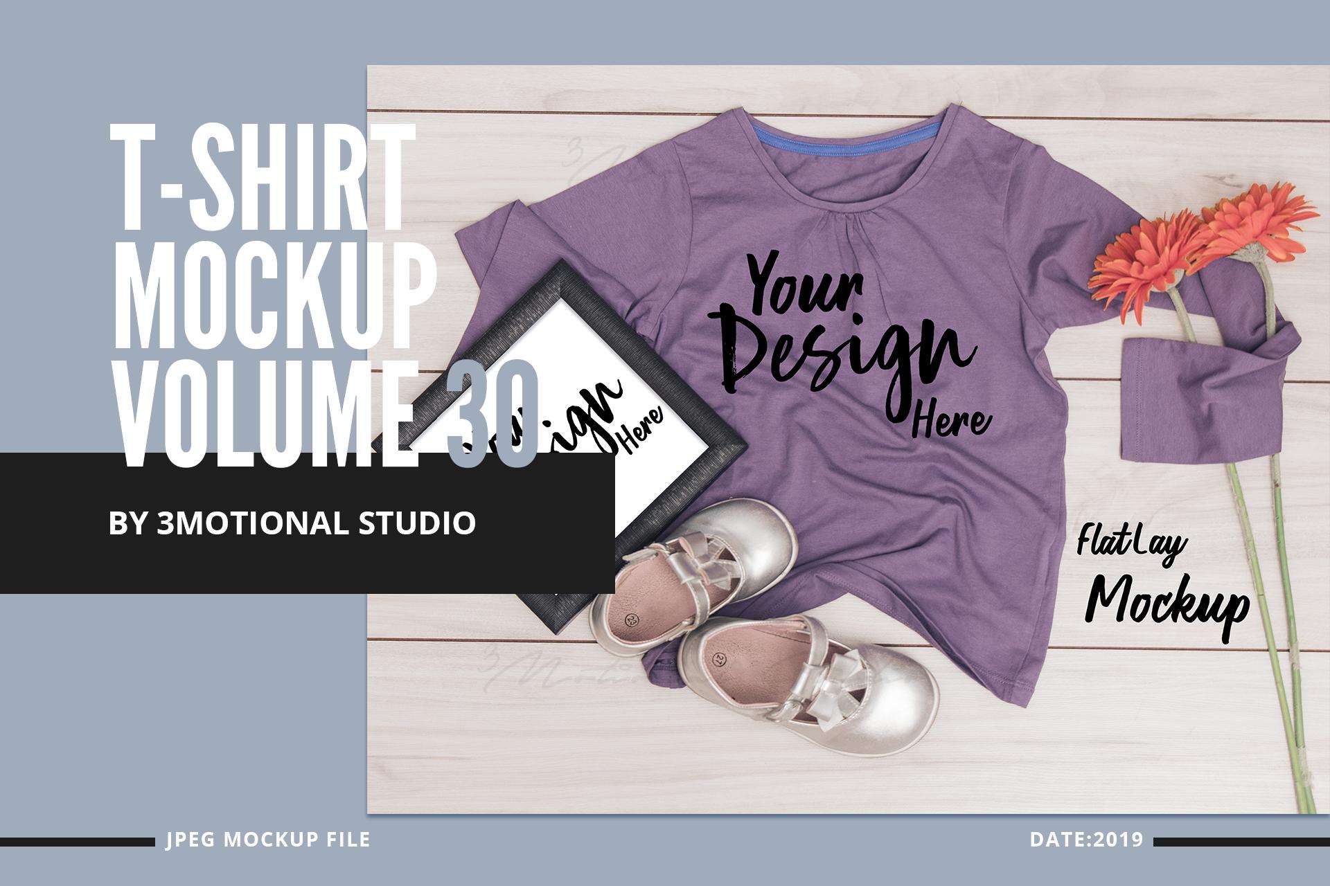 Neo T-Shirt Mockup Volume 30 example image 1