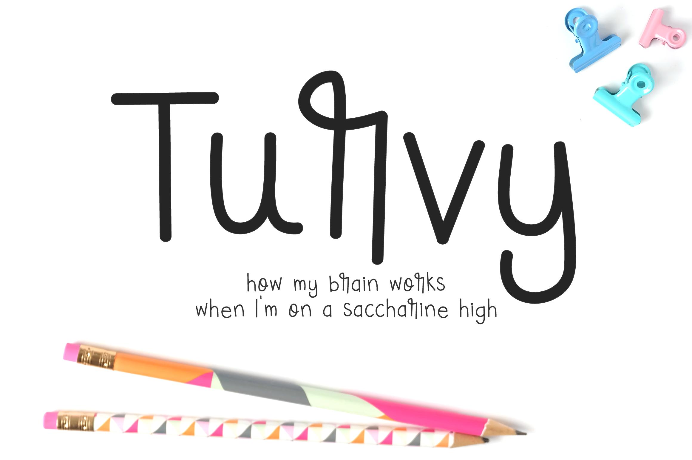 Turvy - A Unique Font to Replace Comic Sans example image 1