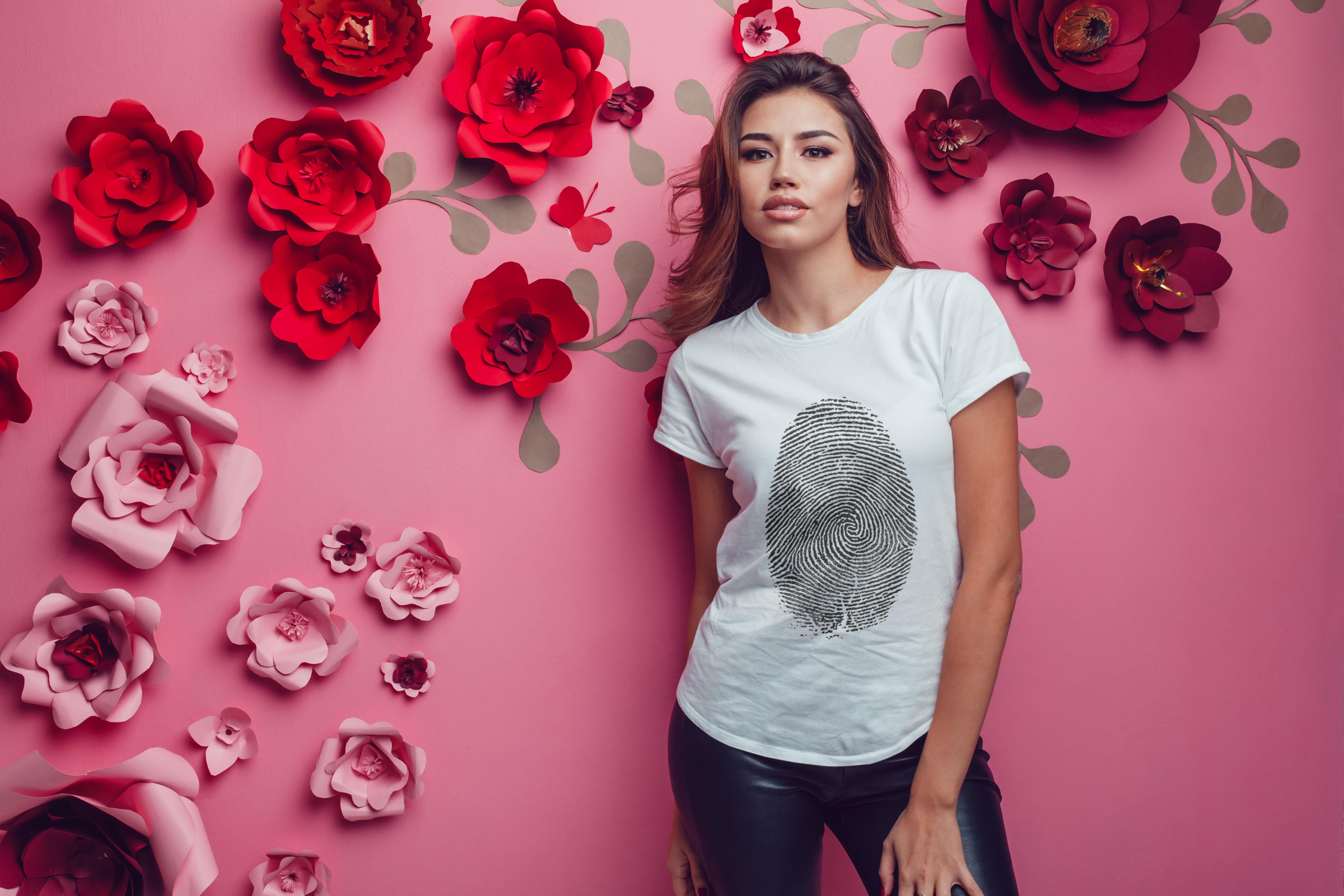 T-Shirt Mock-Up Vol.22 2017 example image 22